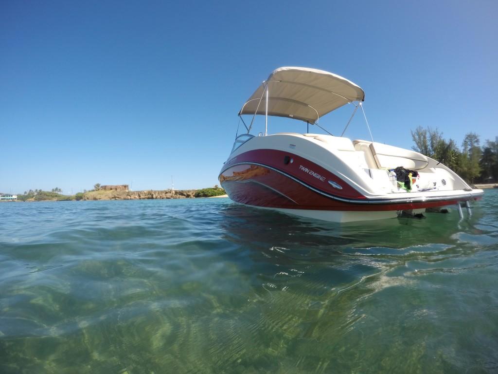 Isla De Cabras Snorkel Trip San Juan Boat Rental