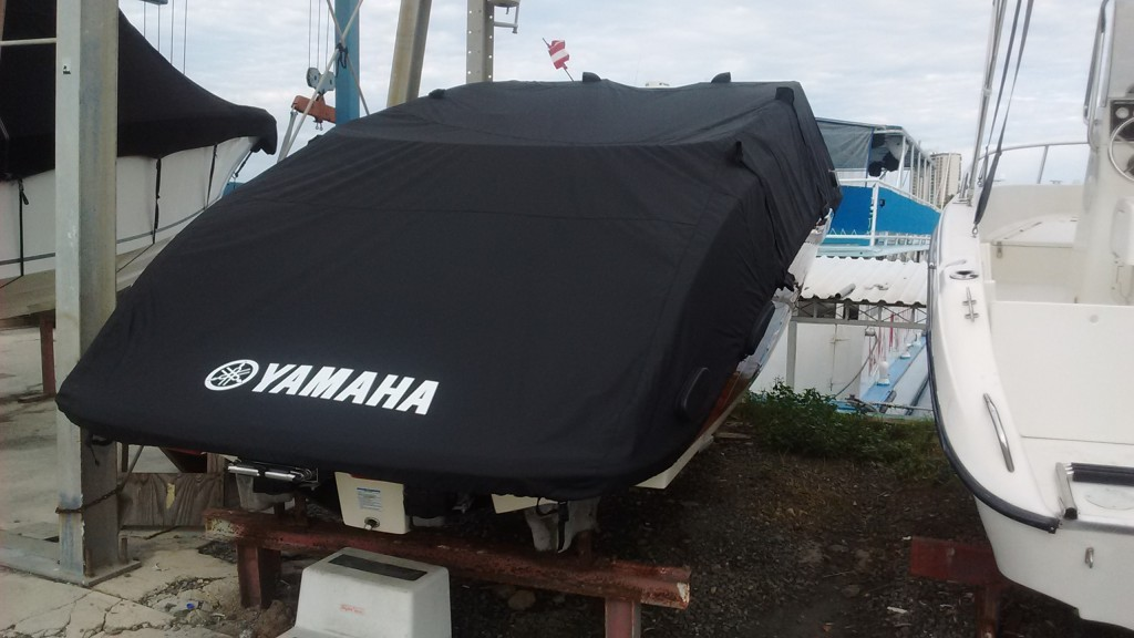 Boat with Cover, clean and ready to go.